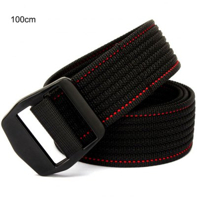 38mm Wide High Strength Nylon Ribbon Outdoor Tactical Belt Waist Belt