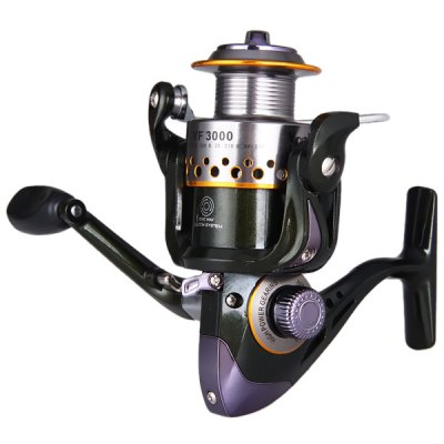 YF3000 Super Precise Drag System Fishing Reels 10 Ball Bearings Winder Spool  -  One Way Clutch