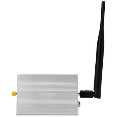 RF610 Pro Multifunctional 2.4GHz 2.3W Wireless WiFi Signal Booster Amplifier Built - in Gain Antenna Compatible IEEE 802.11b / g