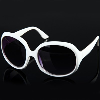Exquisite UV400 PC Large Frame Sunglasses Eyewear Eyes Protector Outdoor Activities Necessaries