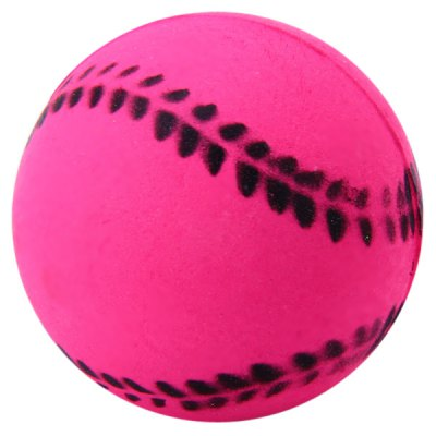Funny 4cm Elastic Baseball Ball Pets Supplies Dogs Cats Toy Doll
