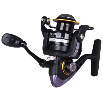 YG1000 Super Precise Drag System Fishing Reels 11 Ball Bearings Winder Spool  -  One Way Clutch