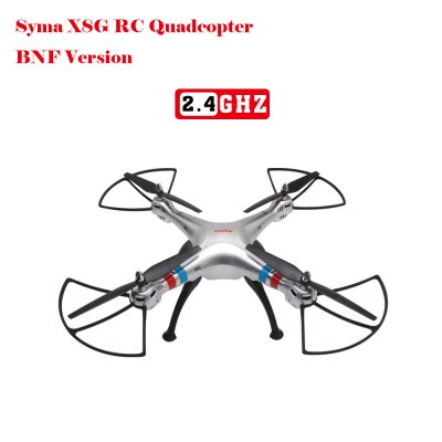 SYMA X8G 2.4G 4 Channel RC Quadcopter 3D Spin Drone - BNF Version