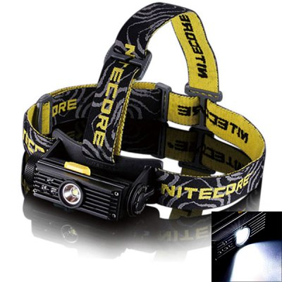 Nitecore HC90 Cree XM - L2 T6 3 Modes 900lm 18650/CR123 LED Headlamp