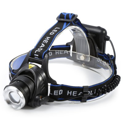 Cree XM - L T6 1000lm 3 - Mode AA Battery LED Headlamp