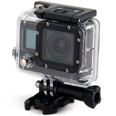 F42 WiFi 1080P FHD Sports DVR 30M Waterproof Diving Action Camera with Charger Adapter Bracket