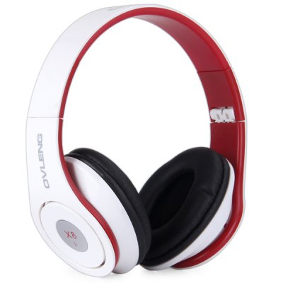 OVLENG X8 Foldable Studio Headphone Noise Cancellation 1.2m Cable Headset with Mic for iPhone / iPod / Smartphone / Tablet PC