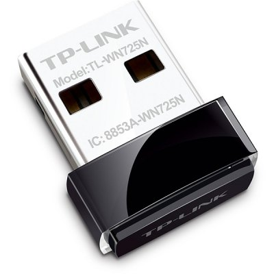 TP-Link TL-WN725N Mini Portable High-speed USB Adapterr WIFI AP Wireless N Router 150Mbps -Black
