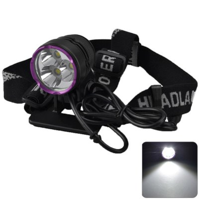 SingFire SF - 827 Cree XML - U2 3 LEDs Bike Front Lamp Headlight (3 Modes 2700Lm 4 x 18650 Battery)