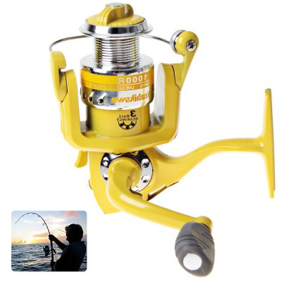 Yoshikawa R1000 3BB Spinning Fishing Reel of High Quality