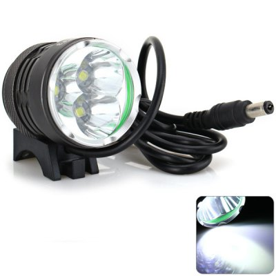 LuckySun F3 CREE U2 3 - LEDs 2300Lm Multi - functional LED Water - resistant Headlight for Camping