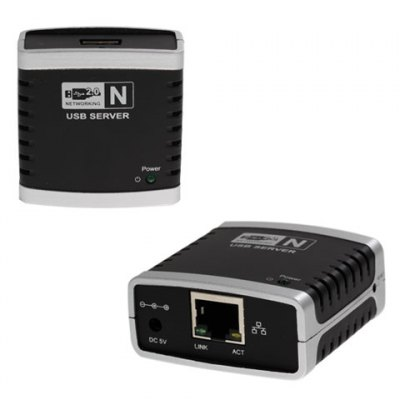 USB2.0 Networking Server and printer server 10/100M