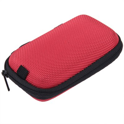 Mini Compact Zip Storage Case Box Multiple Pockets Organizer for Ego Electronic Cigarette