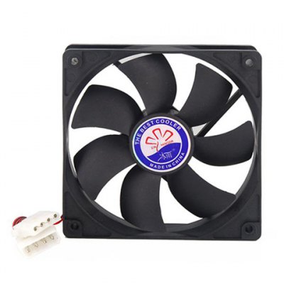 4*4-inch (120mm) Seven-bladed Computer Tower Cooling Fan