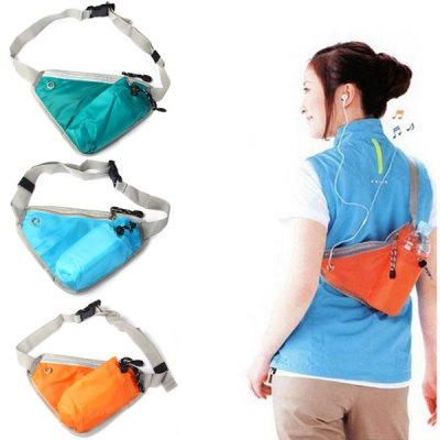 Triangle Pattern Waist Bag Multifunctional Riding Package Sport Use