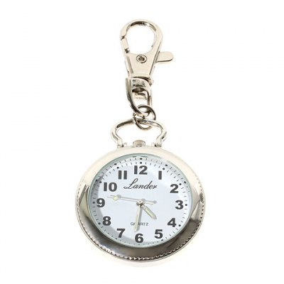 Cheap Pocket Watch with Key Chain Round Dial