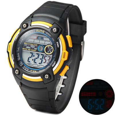 iTaiTek 819 LED Sports Military Watch Week Date