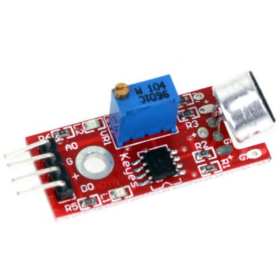 High Quality Microphone Sound Detection Sensor Module Works with Official Arduino