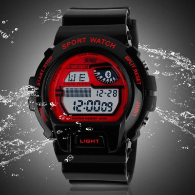 Skmei 1010 Multifunction Sports LED Watch 50M Water Resistant