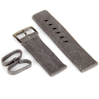 2.6cm Canvas Watch Band Strap Wristband
