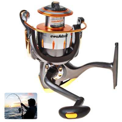 Yoshikawa ZT5000 10+1 Ball Bearing Spinning Fishing ReeL of 4.7:1 Gear ratio