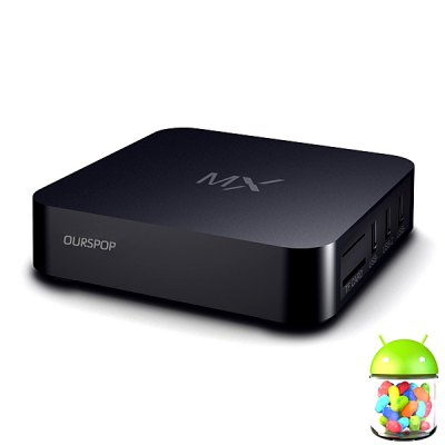 Ourspop TB06E Dual Core RK3066 Android 4.2.2 1GB RAM/8GB ROM TV Box/Mini PC Support Wi - Fi/HDMI/1080P