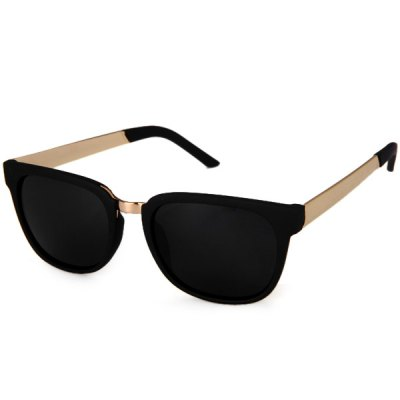 Retro Sunglasses with UV Prevention and Full - rim for Men and Women