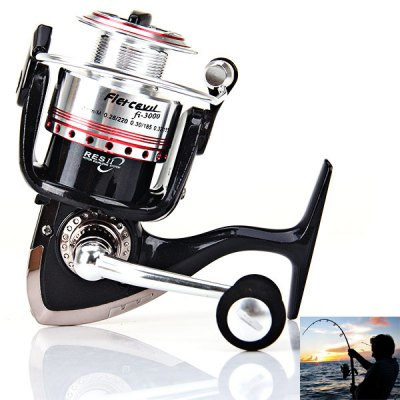 Hot Sale Corrosion-resistant Fi3000 5BB Fishing Reel Spinning Reels Practical Fishing Tackle