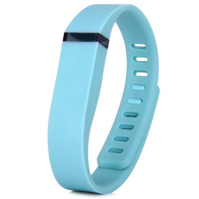 Colorful Adjustable Silicon Wristband Water Resistant Wrist Strap Practical Gadget for Fitbit Flex