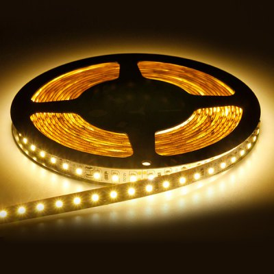 5M SMD - 3528 18W 1200LM 300LEDs 12V LED Decorative Non - waterproof LED Warm White Strip Light