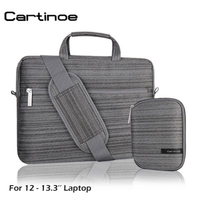 Cartinoe Notebook Laptop Sleeve Briefcase Inner Bag for 12  -  13.3 inch MacBook Lenovo Dell Asus Elite Series