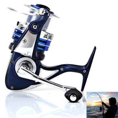 Hot Sale Corrosion-resistant LB6000 4+1BB Fishing Reel Spinning Reels Practical Fishing Tackle