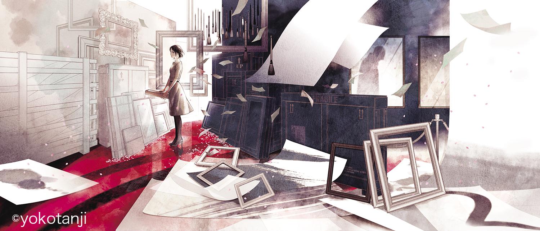丹地陽子「神の値段」原画