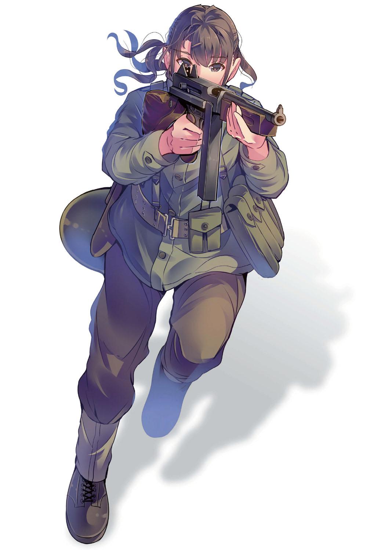 第二次大戦中のアメリカ軍歩兵と戦車兵 作画のための第二次大戦軍服