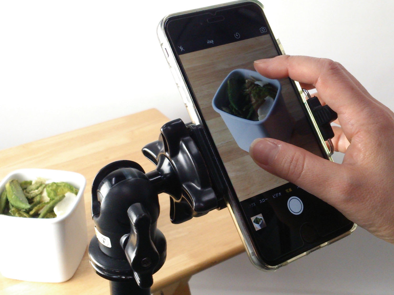 タップとピンチで簡単!デジタルズームと明るさ調整の使い方