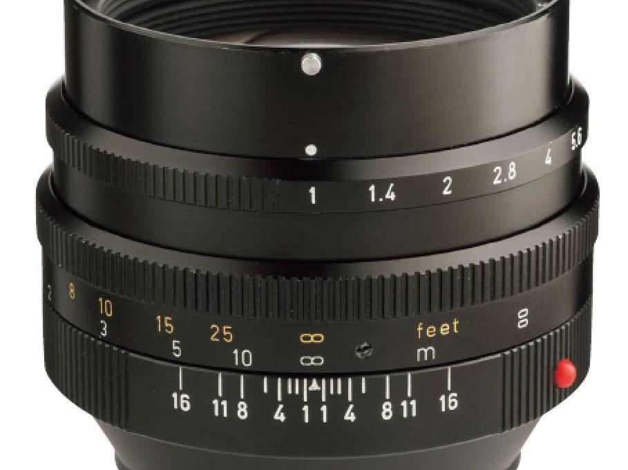 圧巻の描写が人気の第2世代 Noctilux-M 50mm F1