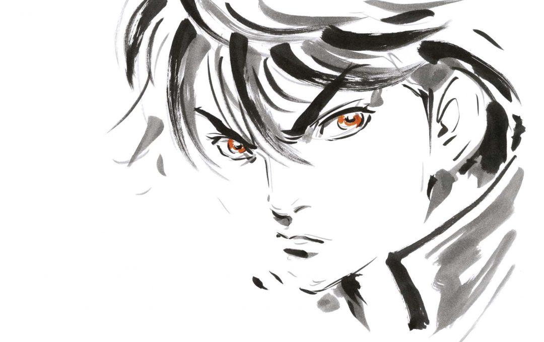 表情を考えて顔を描く