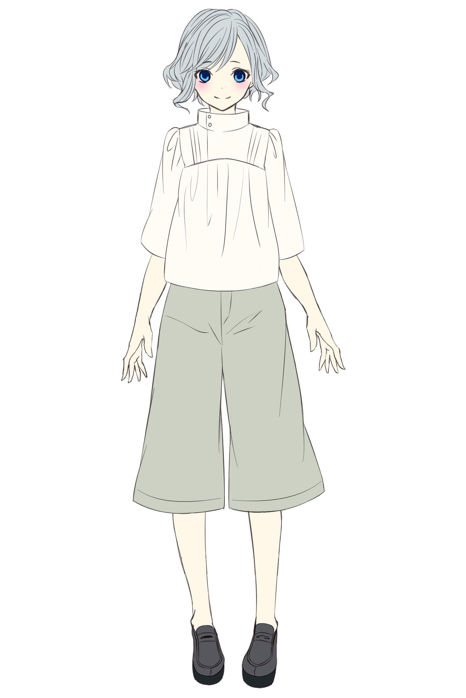 定番服をファンタジーにデザインする ファンタジー衣装の描き方 第2回