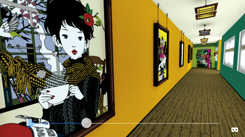 中村佑介さんの初VR作品「Birth YUSUKE NAKAMURA VR」リリース!