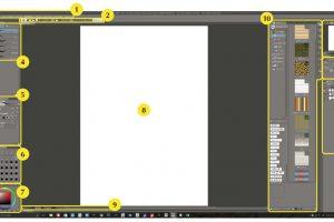 これから始める方へ「CLIP STUDIO PAINT PRO」のインターフェースの見かたを解説します