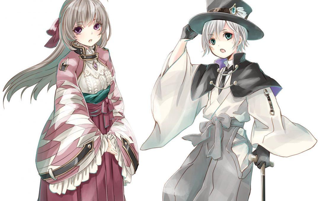東洋ファンタジー衣装 実在する衣装の要素をかけ合わせてファンタジー衣装をデザインする