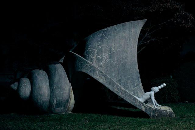 菊地哲写真展「そこにいたらダメな人。」