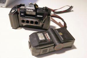 Nishika F8000というフィルムカメラで作る3D-GIF Effect