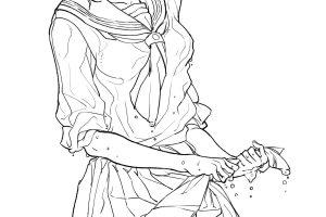 「セクシーな衣装」の描き方とは? 体のラインが出て、水滴が滴る「濡れ透け」の表現