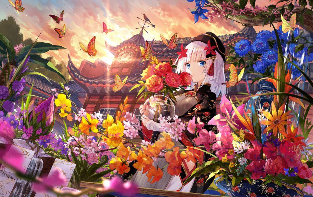 藤ちょこ 新作データダウンロード 新刊「美しい幻想世界とキャラクターを描く」