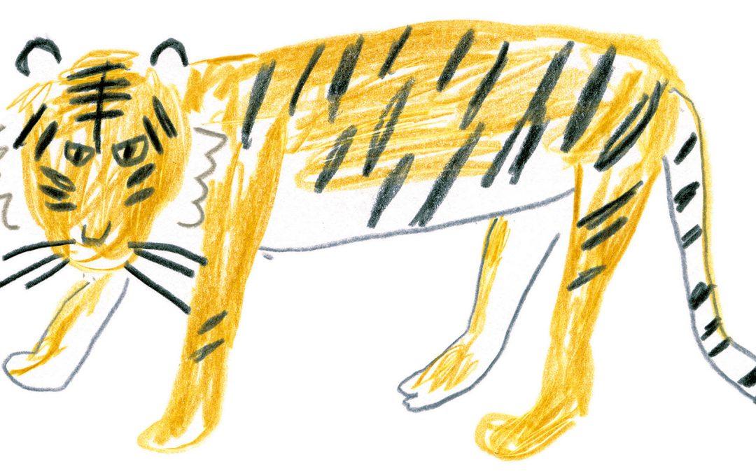 トラを描いてみよう!