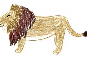 ライオンを描いてみよう!