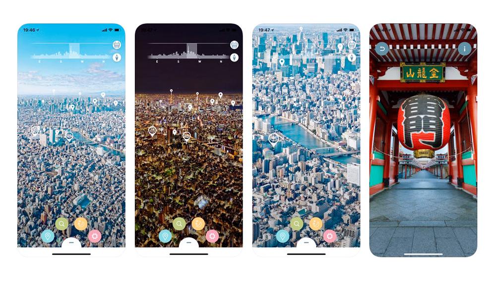 360度パノラマ写真で東京スカイツリーを楽しめるアプリ「TOKYO SKYTREE® PANORAMA GUIDE」