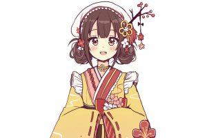 """""""和風の服装""""とよく合う「ウメ」という花"""