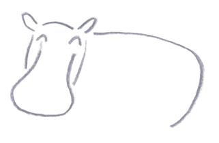 ミヤタチカのお絵描き動物園-第8回カバDrawing04
